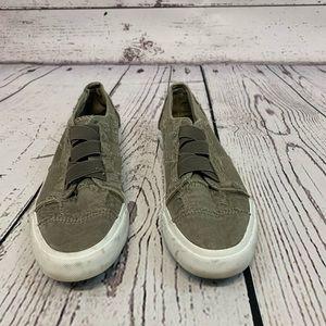 Blowfish Marley Slip On Sneaker Green 8.5